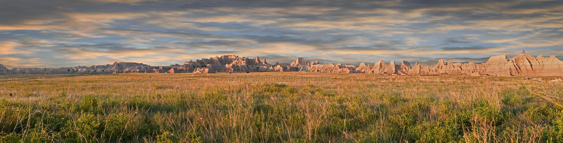 Panorama do norte velho do ermo da estrada imagens de stock