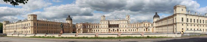 Panorama do palácio foto de stock