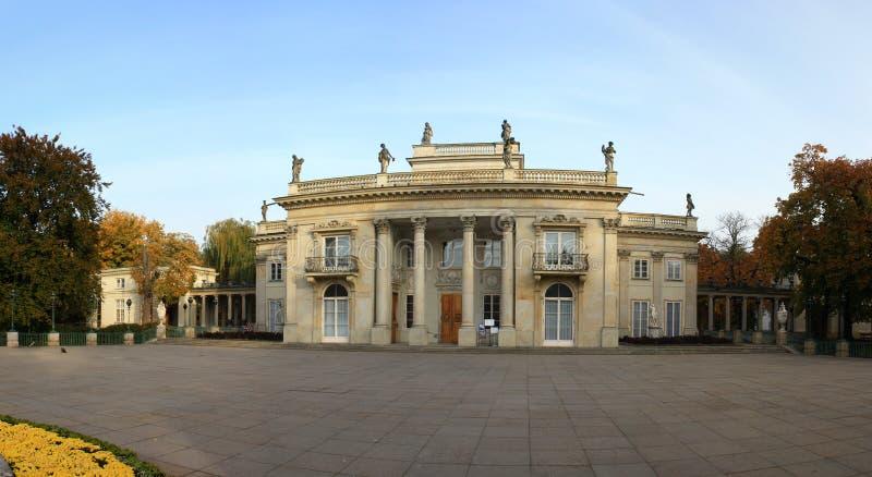 Panorama do palácio real fotos de stock