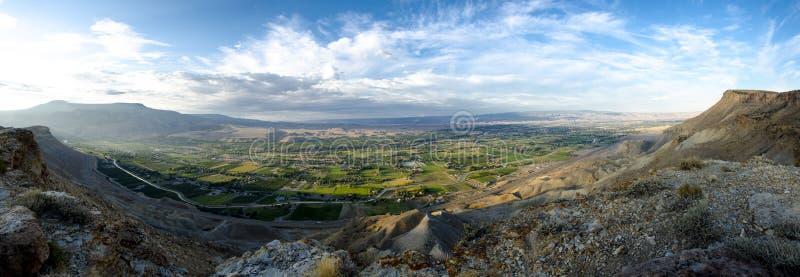 Panorama do Palisade fotografia de stock