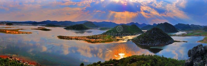 Panorama do pantanal imagem de stock royalty free