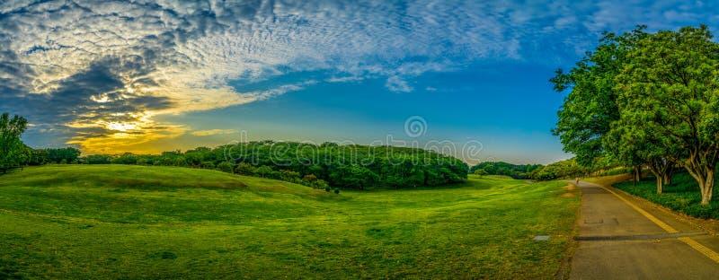 Panorama do parque de Singring imagens de stock royalty free