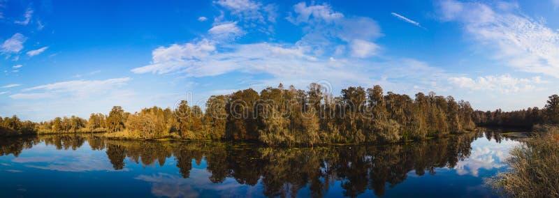 Panorama do parque estadual do lago lettuce imagens de stock royalty free