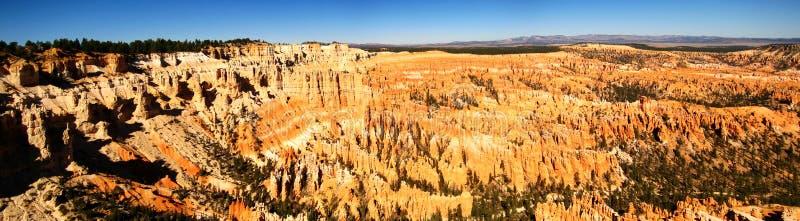 Panorama do ponto de Bryce imagem de stock