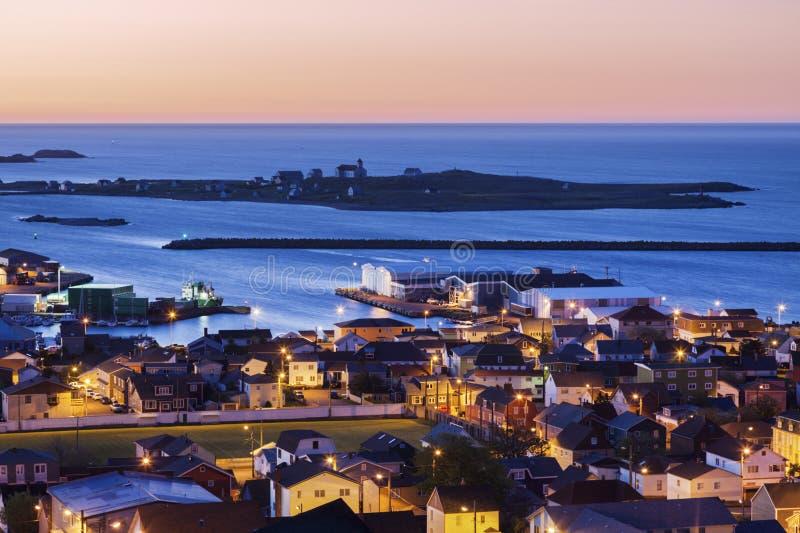 Panorama do Saint Pierre fotografia de stock