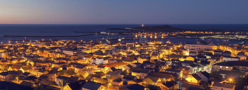 Panorama do Saint Pierre foto de stock