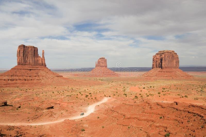 Panorama do vale do monumento foto de stock