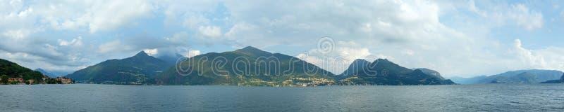 Download Panorama Do Verão De Como Do Lago (Italia). Imagem de Stock - Imagem de nave, nuvem: 29843823
