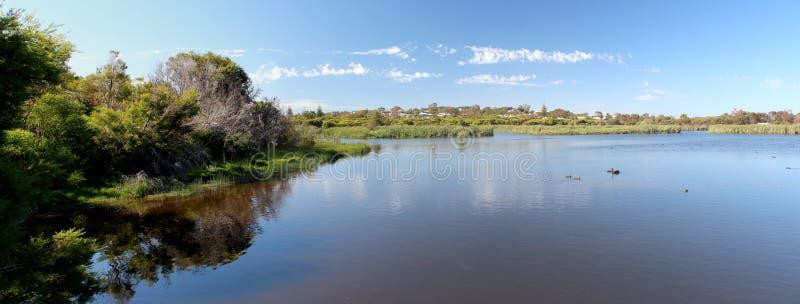 Panorama Duży bagno Bunbury zachodni Australia obrazy royalty free