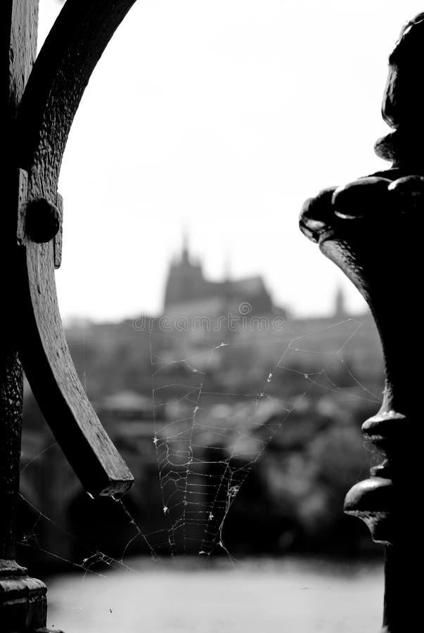 Panorama du château de Prague photo libre de droits