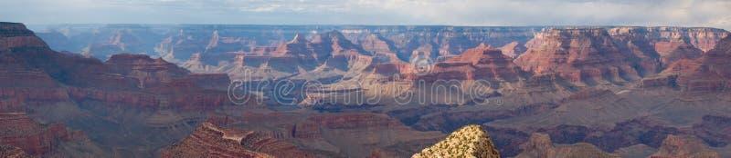 Panorama du NP de gorge grande images libres de droits