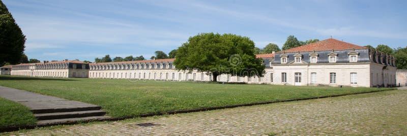 Panorama du royale de corderie dans Rochefort, France, l'Europe photo libre de droits