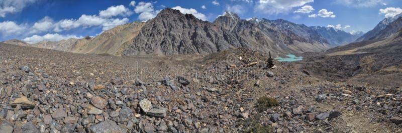 Panorama du Tadjikistan photos stock