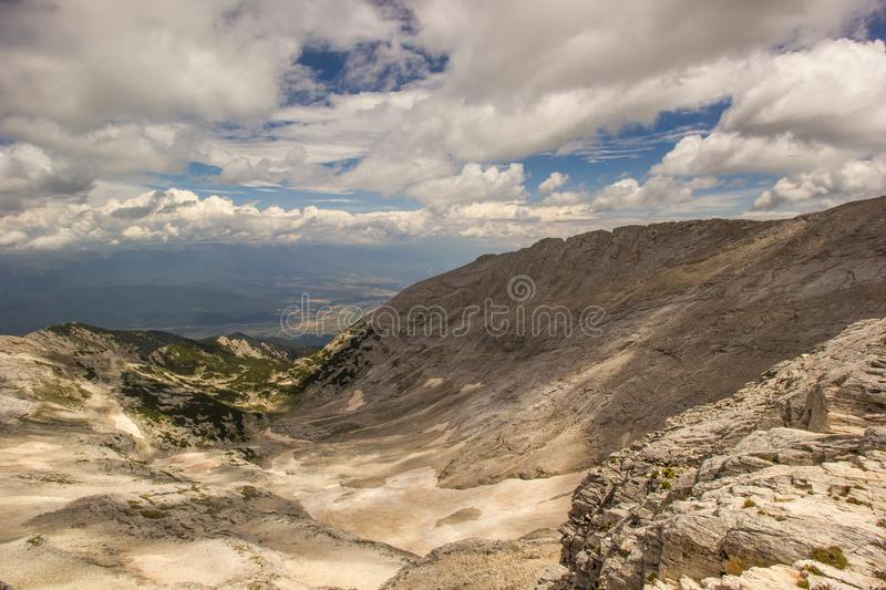 Panorama of the Eagle Rock stock photography