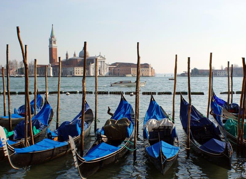 Panorama em Veneza. fotografia de stock royalty free