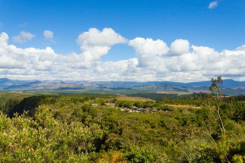 Panorama för Blyde flodkanjon från arkivbilder