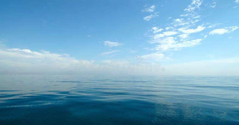 Panorama fino del mar imágenes de archivo libres de regalías