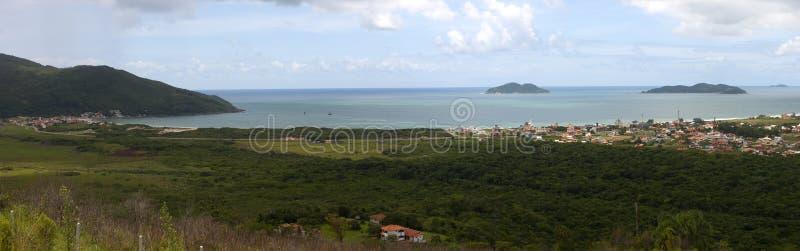 Panorama - Florianopolis - Santa Catarina - Brazilië royalty-vrije stock afbeelding
