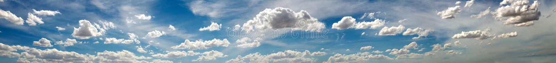 Panorama- foto av skyen med oklarheter royaltyfri fotografi