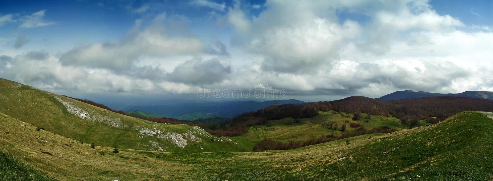 Panorama Gabrovo royalty free stock photo