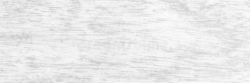 Panorama- gammal vit wood textur arkivbilder