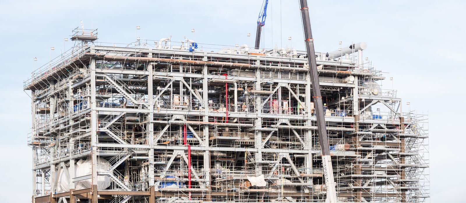 Download Panorama Gas Factory stock photo. Image of environment - 31953102