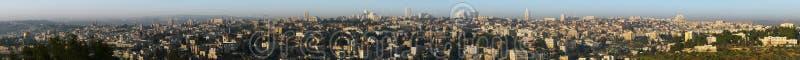 Panorama Gerusalemme Israele immagini stock libere da diritti