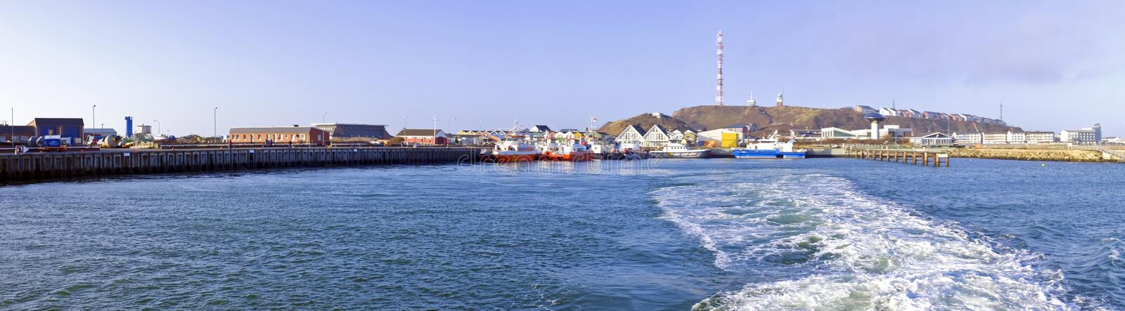 Panorama from Helgoland Germany