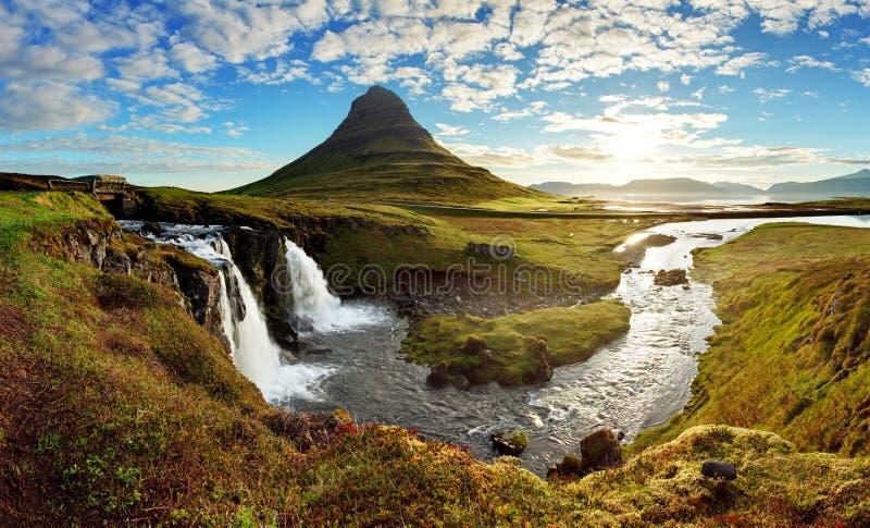 Panorama - het landschap van IJsland royalty-vrije stock foto's