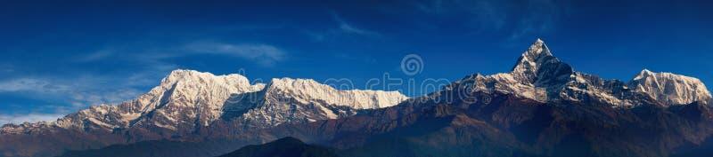 Panorama Himalayan imagen de archivo
