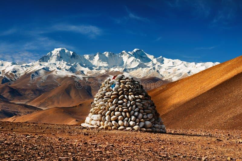 Panorama Himalayan foto de stock