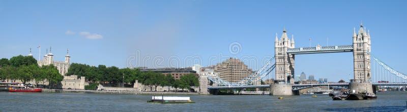 Panorama historique de Londres photo libre de droits