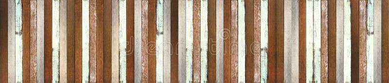 Panorama-Holzfußbodenbeschaffenheitshintergrund stockbilder