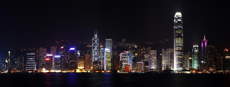 panorama hongkong obraz stock