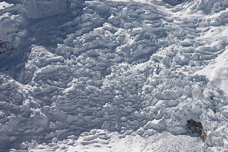 panorama icefall fotografia stock
