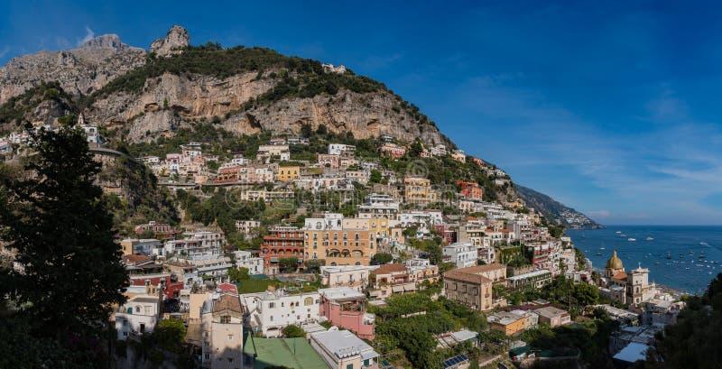 Panorama III de Positano imagens de stock royalty free