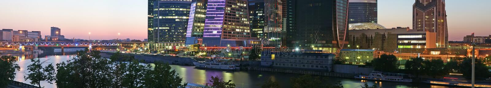 Download Panorama Of The International Business Centre Stock Image - Image: 22378441