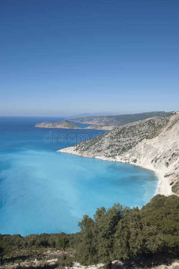 Download Panorama of Ionian Sea stock image. Image of looking - 27086631