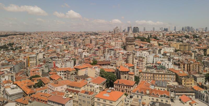 panorama istanbul obraz stock