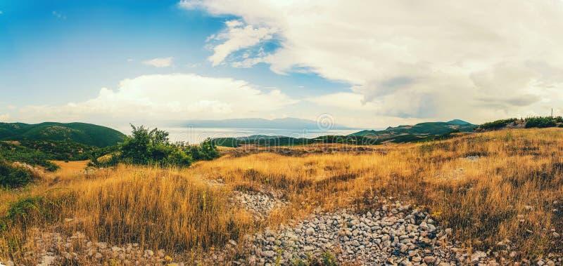 Panorama krajobraz - Macedonia zdjęcia stock