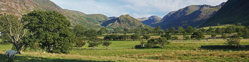 panorama krajobrazowa obraz stock