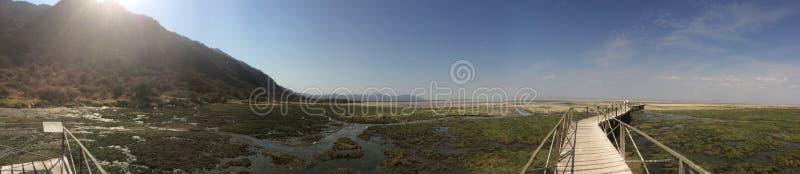 Panorama lake fotografering för bildbyråer