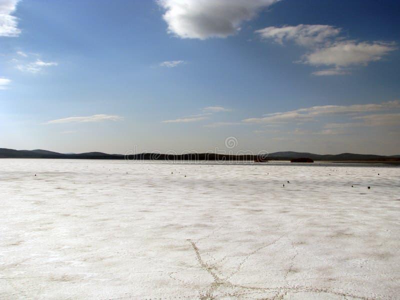 Panorama of lake Iset stock photos