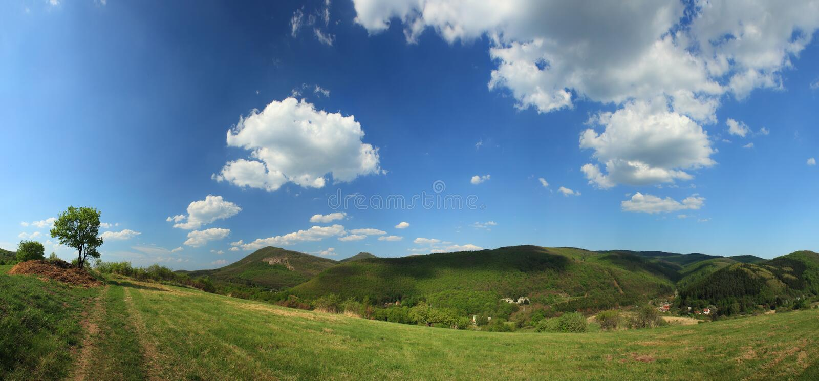 Panorama landscape royalty free stock images