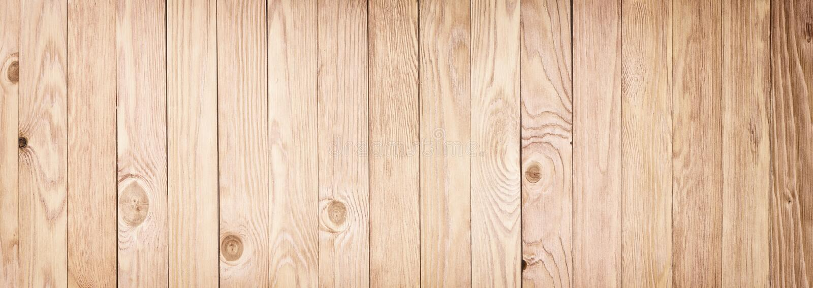 Download Panorama Of Light Wooden Texture Desktop Background Stock Image