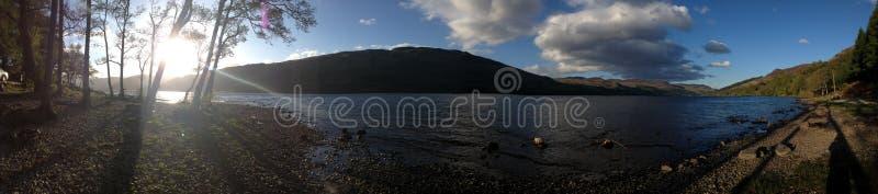 Panorama Loch Zarabia fotografia stock
