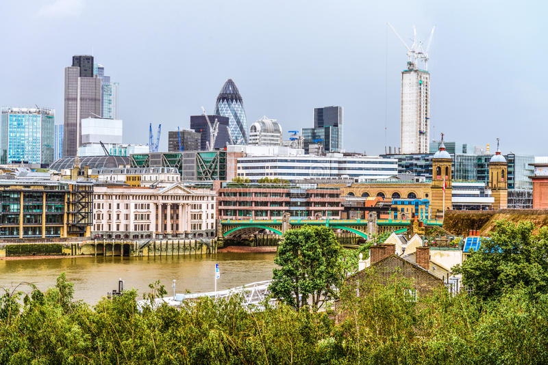 Download Panorama of London stock image. Image of summer, historic - 35538303