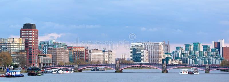 Panorama of London Skylines royalty free stock photo