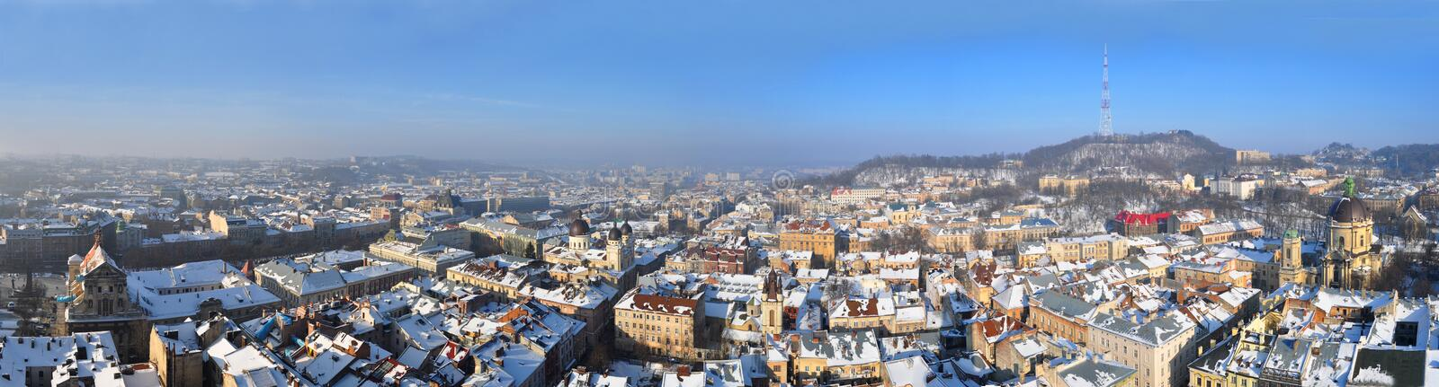 Download Panorama Of The Lviv Stock Images - Image: 18982524