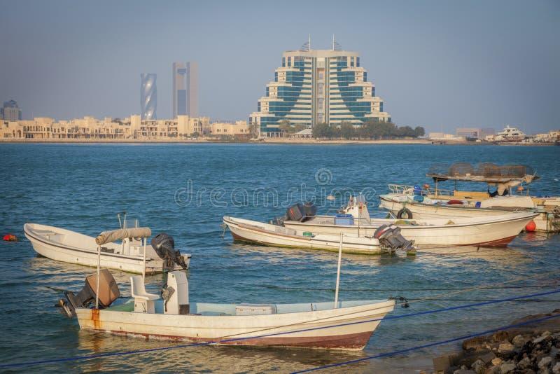 Panorama of Manama. Manama, Bahrain stock photos